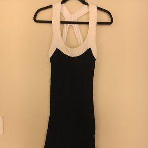 Diane Von Furstenberg Dress Knit Maxi Black Size 6